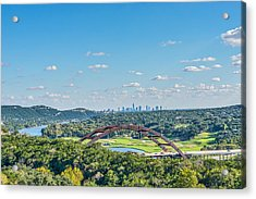 A Distance View  Acrylic Print by Tod and Cynthia Grubbs
