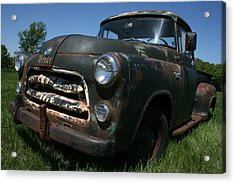 A Dodge Classic Acrylic Print by William Albanese Sr