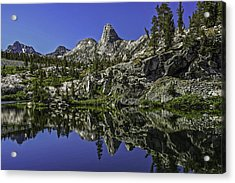 A Dollar Lake Reflection Acrylic Print