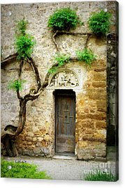 A Door In The Cloister Acrylic Print by Lainie Wrightson