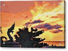 Dragon From Karon Beach Acrylic Print