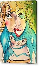A Drowning Demise Acrylic Print
