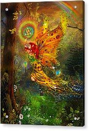A Fairy Tale Acrylic Print by Steve Roberts