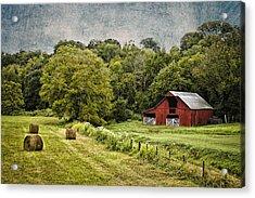 A Farmer's Pride Acrylic Print by Elizabeth Wilson