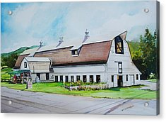 A Farmstand  In The Berkshires Acrylic Print