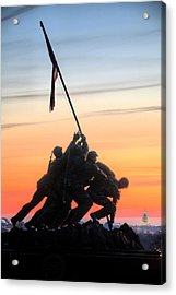 A Few Good Men Acrylic Print