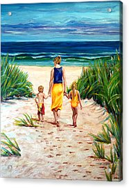 A Few Of My Favorite Things Acrylic Print by Suzanne King