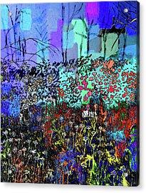 A Field Of Flowers Acrylic Print