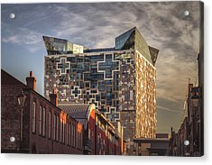 A Fine Morning At The Cube Acrylic Print