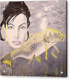 A Fish Named Angelina Acrylic Print by Joseph Palotas