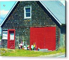 A Fisherman's Barn Acrylic Print