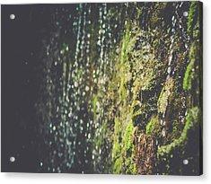 A Flowing Rock Acrylic Print