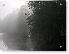 A Foggy Morning In Pennsylvania Acrylic Print