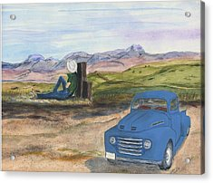 A Ford Acrylic Print