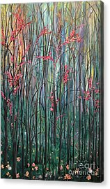 A Forest Acrylic Print by Heather McKenzie