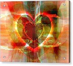 A Forgiving Heart Acrylic Print by Fania Simon