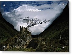 A Fortress Built To Repel Tibetan Acrylic Print by James L. Stanfield