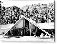 A Frame Bw Palm Springs Acrylic Print