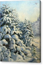 A Frosty Morning Acrylic Print