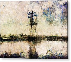 Acrylic Print featuring the photograph A Gallant Ship by Claire Bull