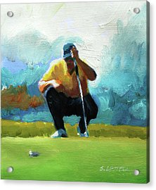 A Game Of Inches Acrylic Print