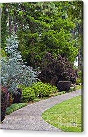 A Garden Walk Acrylic Print