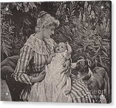 A Gentle Reminder  Acrylic Print by Frederick Morgan