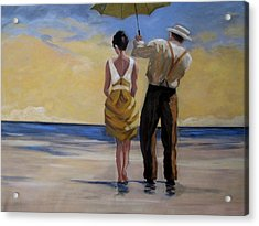 A Gentleman And His Lady Acrylic Print
