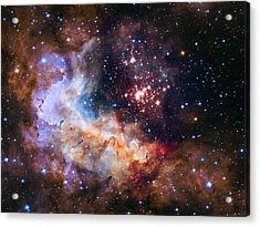 a giant cluster of about 3,000 stars called Westerlund Acrylic Print
