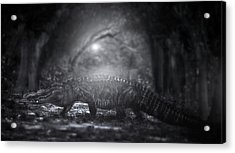 A Giant In The Forest Acrylic Print by Mark Andrew Thomas