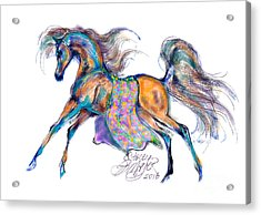 A Gift For Zeina Acrylic Print by Stacey Mayer