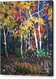 A Glance Of The Woods Acrylic Print