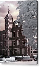 A Glimpse Of Charlton House, London Acrylic Print by Helga Novelli