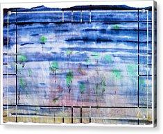 A Glimpse Acrylic Print by Tom Hefko
