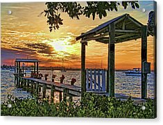 A Glorious Morning Acrylic Print by HH Photography of Florida