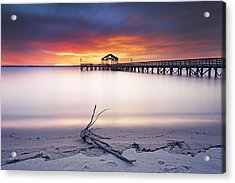 Acrylic Print featuring the photograph A Good Morning by Edward Kreis