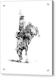A Good Ride Acrylic Print by Karen Elkan