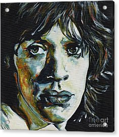 Almost Hear Your Sigh. Mick Jagger Acrylic Print