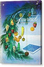 A Gourmet Cover Of Marzipan Fruit Acrylic Print