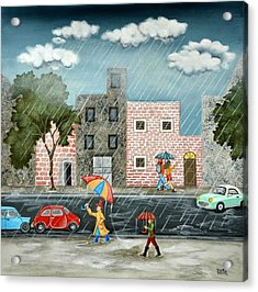A Great Rainy Day Acrylic Print