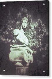 A Greek Statue Acrylic Print by Tom Gowanlock