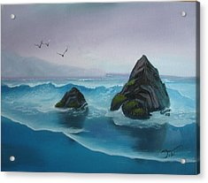 A Grey Day Acrylic Print by Tobi Czumak