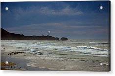 A Guiding Light Acrylic Print by Jim Walls PhotoArtist