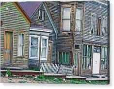 A Haimish Abode From A Bygone Era Acrylic Print