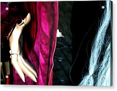 A Hand Becky Acrylic Print by Jez C Self