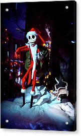 A Haunted Christmas Acrylic Print by Mark Andrew Thomas