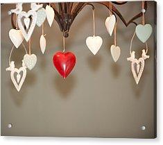A Heart Among Hearts I Acrylic Print