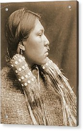 A Hesquiat Maiden 1910 Acrylic Print by Padre Art