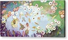 A Hidden Lagoon Acrylic Print