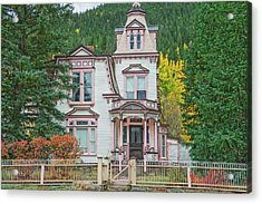 A Historical Treasure Constructed In 1870, Maxwell House, Georgetown, Colorado  Acrylic Print